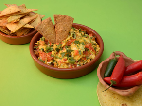 Migas or Mexican Scrambled Eggs recipe from The Natural Vitality Chef