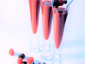 A Festive Madeiran Mocktail recipe from the Natural Vitality Chef