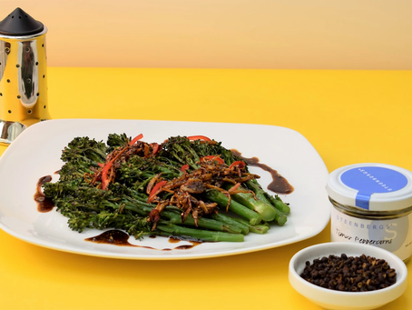 Tenderstem Broccoli With Ginger, Chilli And Timur Pepper recipe