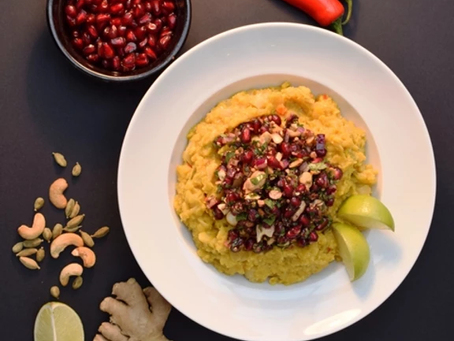 Hot Sweet Coconut Dhal recipe from The Natural Vitality Chef