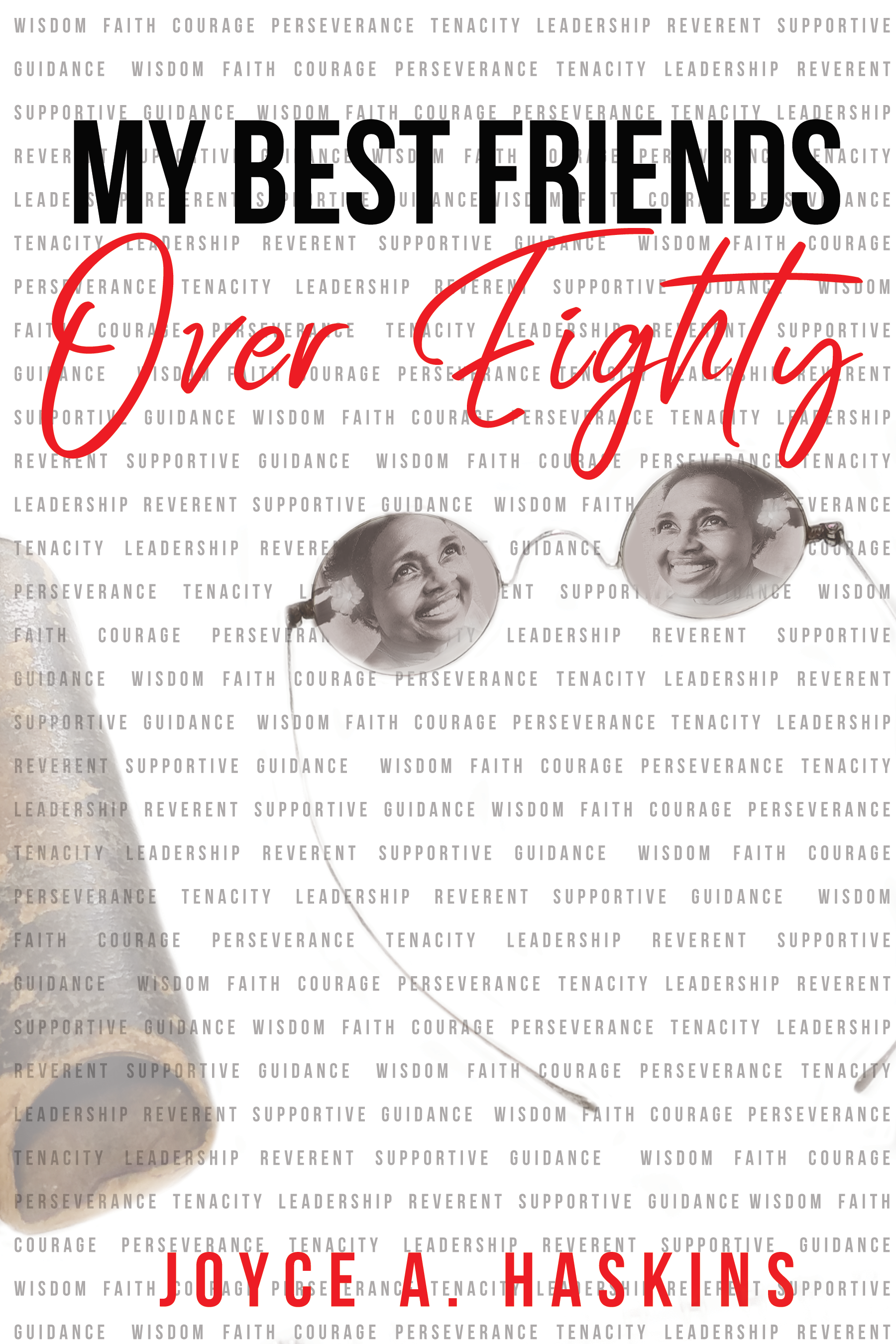 Best Friend Over Eighty Front Cover- R2