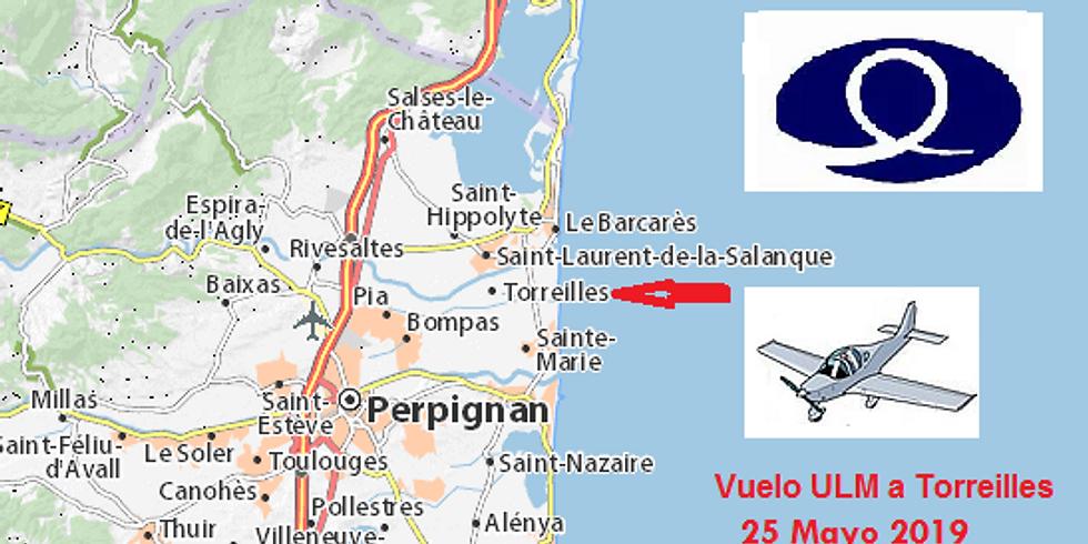 Vuelo ULM a Torreilles 2019 - al lado de Perpiñan (Francia)