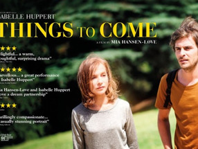 Huppert keeps us wondering about 'Things to Come'