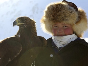 From the other side of the world, 'The Eagle Huntress' soars with inspiration