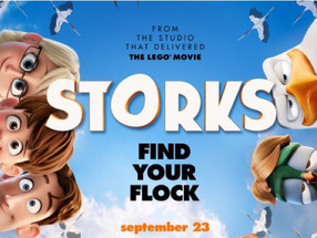 'Storks' delivers a fun animated experience