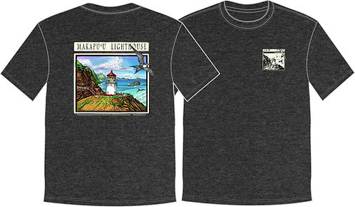 *NEW* Men's T-Shirt Makapu'u Lighthouse -GREY-