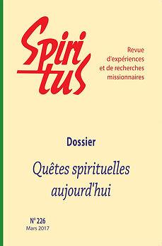 Quêtes spirituelles aujourd'hui