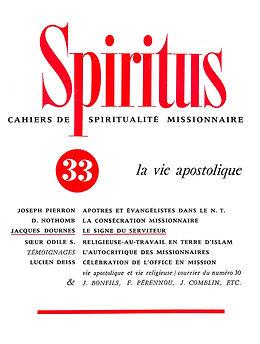 La vie apostolique