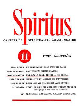 Voies nouvelles ouvertes par l'Esprit
