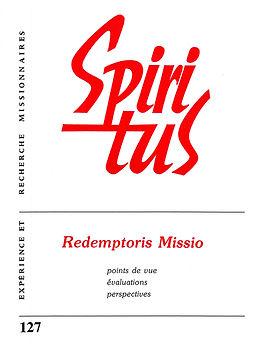 Redemptoris Missio - points de vue, évaluations, perspectives