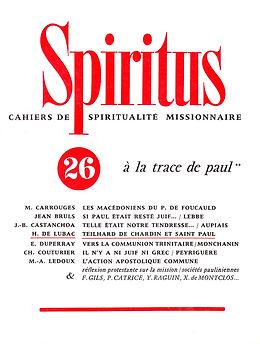 À la trace de Saint Paul