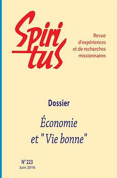 """Economie et """"Vie bonne"""""""