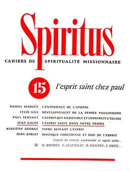 L'Esprit Saint chez Saint Paul