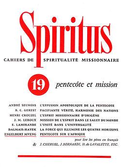 Pentecôte et mission chez les Pères de l'Église