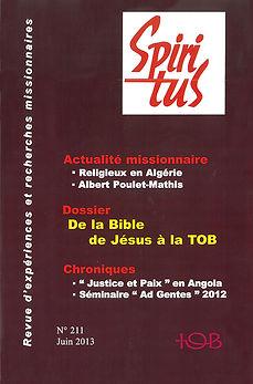De la Bible de Jésus à la TOB