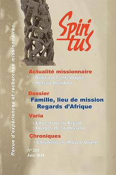 Famille, lieu de mission - Regards d'Afrique