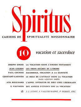Vocation et sacerdoce