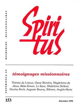 Témoignages missionnaires
