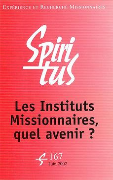 Les Instituts Missionnaires, quel avenir ?