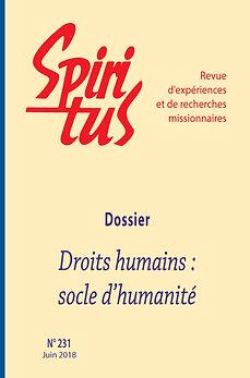 Droits humains : socle d'humanité