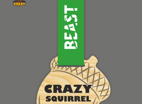 Медаль Crazy Squirrel OCR