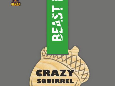 Медаль Crazy Squirrel OCR