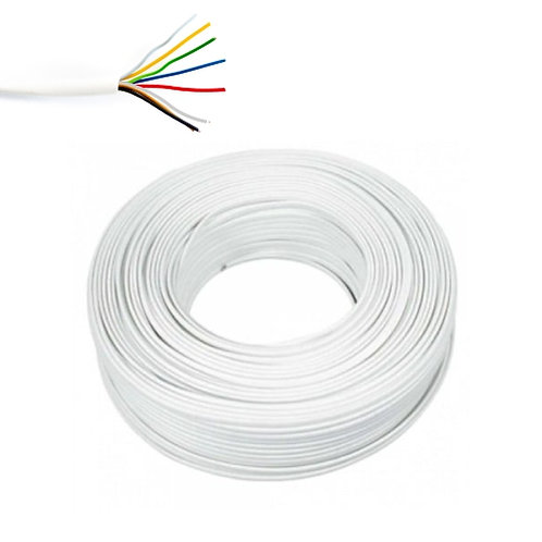 Pin telefónico 24 awg 6 conductores