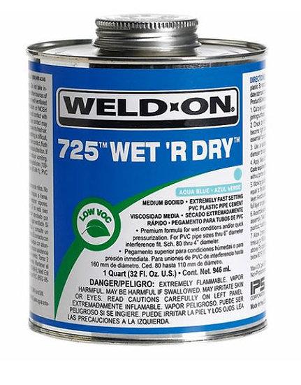 Adhesivo pvc 725 humedad