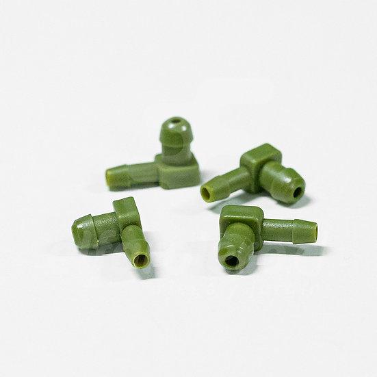 Gotero microflapper verde 8lt/h