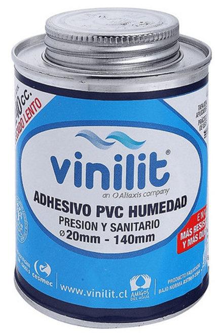 Adhesivo pvc humedad