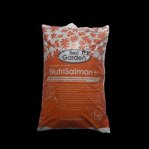 Nutri-salmón+, revitalizador de suelo