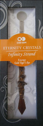 ENERGY - GOLD TIGER'S EYE (AMBER DROPLET)