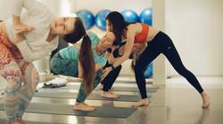 Йога в мини-группе