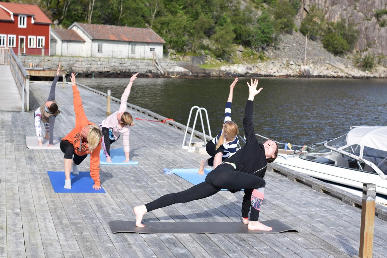 Йога-тур в Норвегию