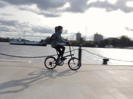 Складной городской велосипед - удобно ли?