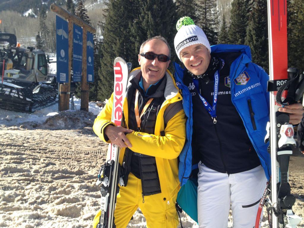 Christoph Innerhofer und Emil