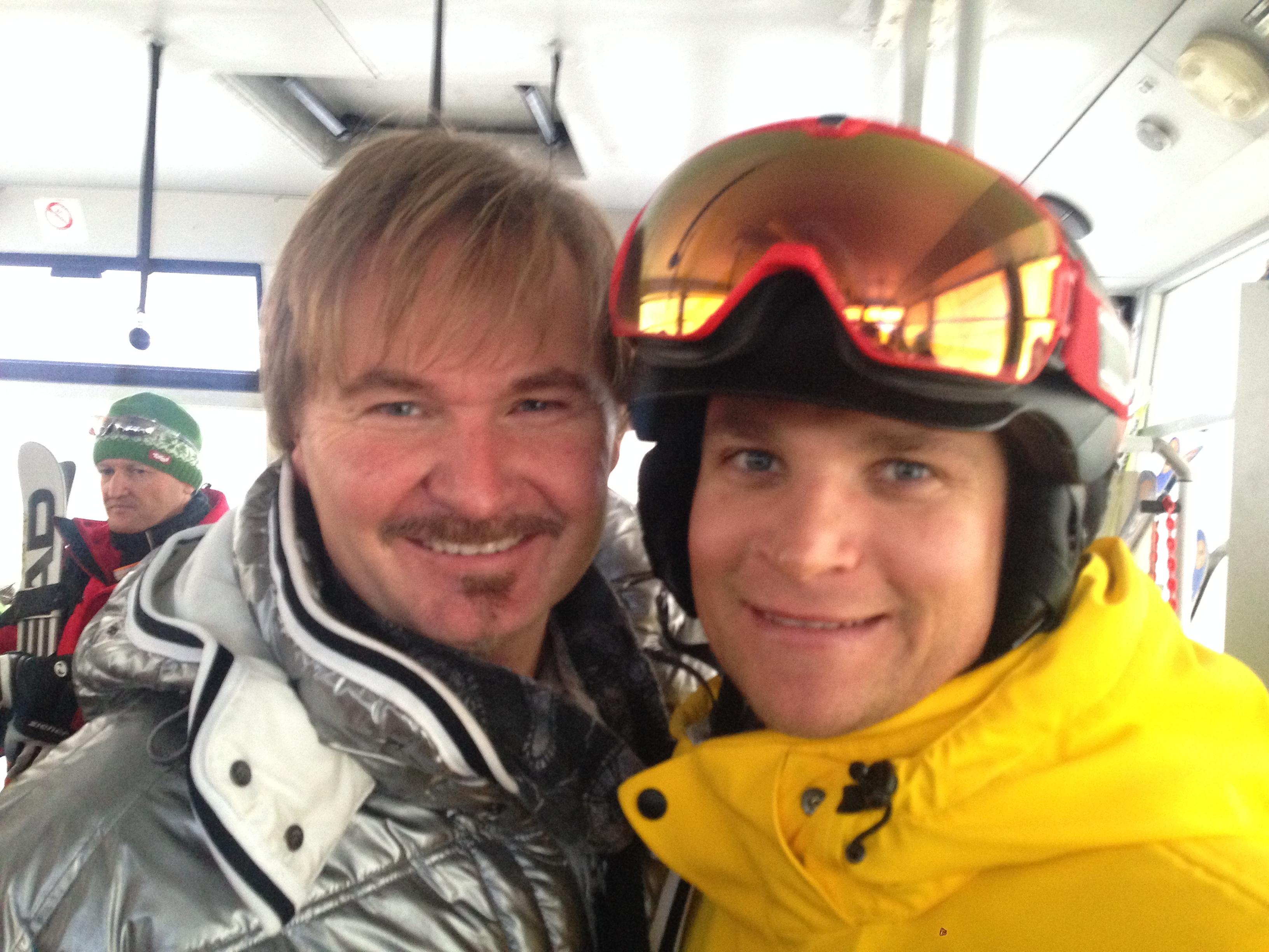 Nik P. mit Maik