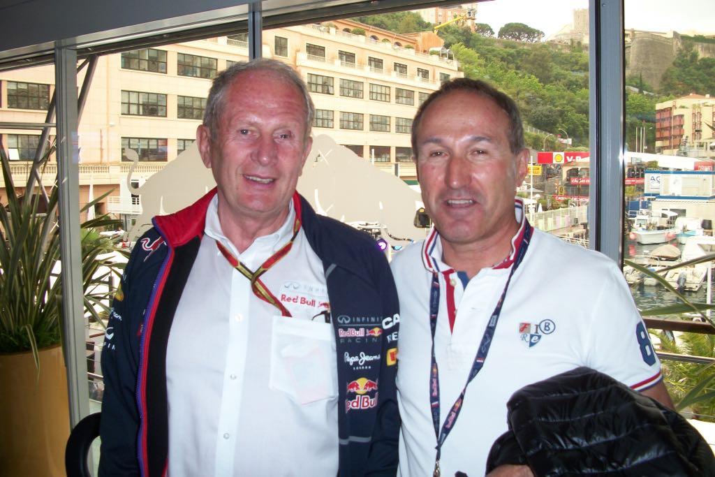 Sportchef Redbull mit Emil