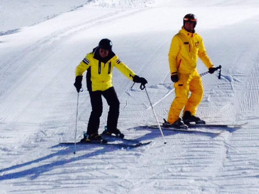 Horst Lichter und das Skifahren