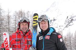 Hannes Reichelt und Emil