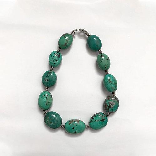 Rare Tibetan Turquoise Necklace