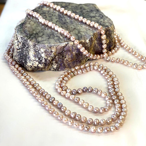 Fresh Water Pearl Necklace - 3 meter Long