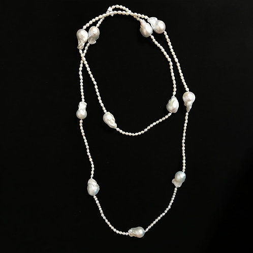 Baroque Freshwater Pearls With Rice Shape Freshwater Pearls