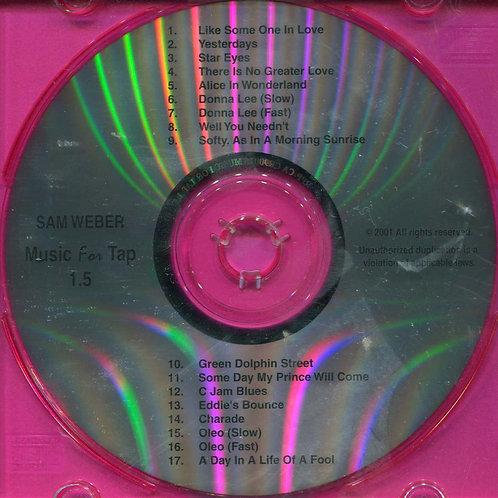 Sam Weber - Music for Tap 1.5 (CD)