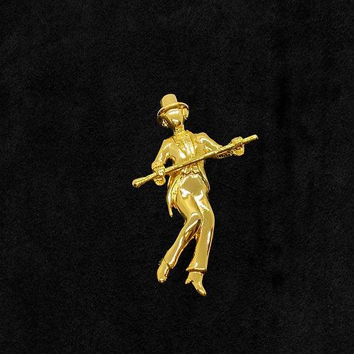 Tap Dancer Figure Pin