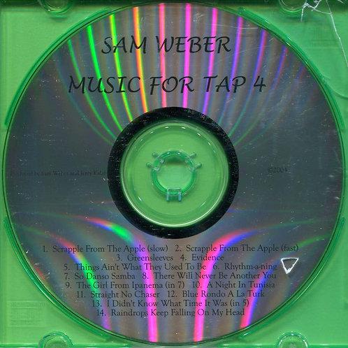 Sam Weber - Music For Tap 4 (CD)