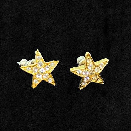 "Rhinestone ""STAR"" Posts"
