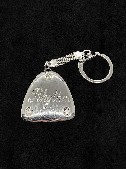Rhythm Toe Tap Keychain