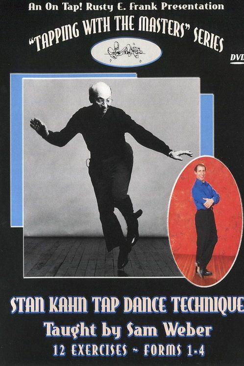 Stan Kahn Tap Dance Technique (DVD)