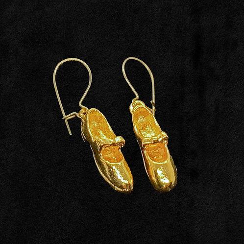 Mary Jane Shoe Earrings